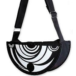 Samba Serenade Recycled LP Vinyl Record Handbag