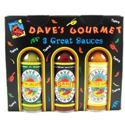 Dave's Gourmet Spicy Hot Sauce Gift Pack