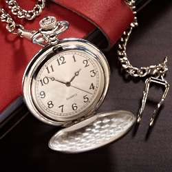 Gentshire Engraved Pocket Watch