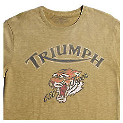 Triumph Motorcycle Tiger T-Shirt