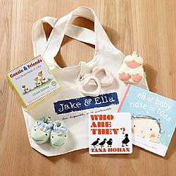 Book Lovers and Animal Friends New Baby Gift Set