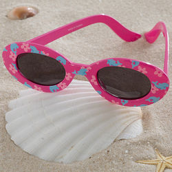 Girl's Dolphin Pink Sunglasses