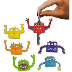 Finger-Puppet Monsters Key Covers