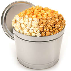 1 Gallon of People's Choice Gourmet Popcorn in Tin