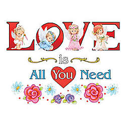 Love Is All You Need Adult T-Shirt