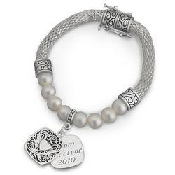 Pearl Mesh Bracelet