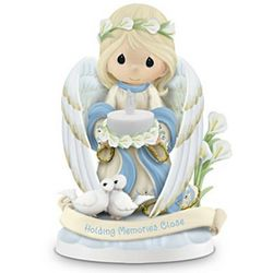 Holding Close the Memories Precious Moments Figurine