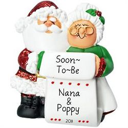 Soon-to-Be Grandma and Grandpa Ornament