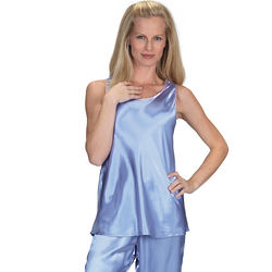 Soothing Satin Tank Pajamas