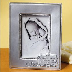 Baptism Blessing Photo Frame
