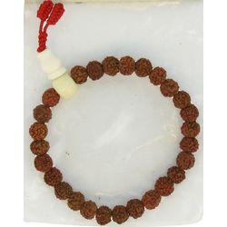 Handcrafted Rudraksha Seed Bracelet