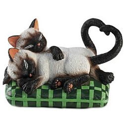So Purr-fectly in Love Kitten Figurine