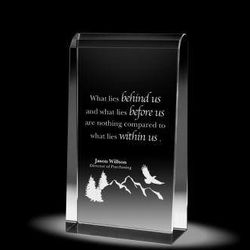 """What Lies Within Us 7"""" Empire Crystal Award"""