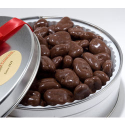 Chocolate Covered Pecans Gift Tin