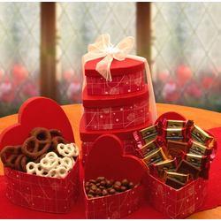 Chocolate Lovers Valentine Tower