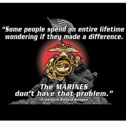 USMC Reagan Quote T-Shirt