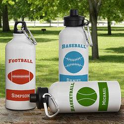 14 Sports Personalized Water Bottle