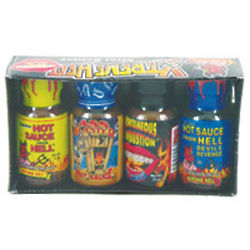 Mini Extreme Heat Hot Sauce Gift Pack