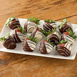 Hand Dipped Chocolate Strawberries