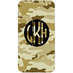 Personalized Camouflage iPhone Case