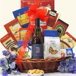 Boston Red Sox Ace Chardonnay Wine Gift Basket