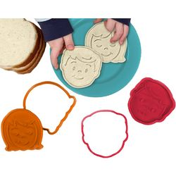 Bread Head Sandwich Cutters and Stamps