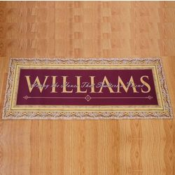 Happy the House Personalized Floormat