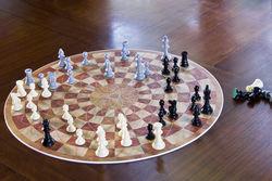 Three Man Chess Game