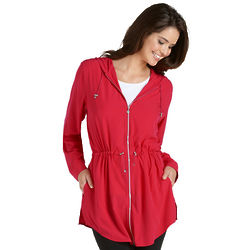 Women's Red Shoreline Cover Up