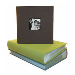 Hudson 2-Up Cloth Slip-In Photo Album