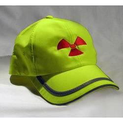 Yellow Cap with Radiation Symbol