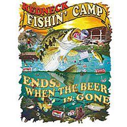 Redneck Fishin' Camp T-Shirt
