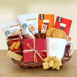 Variety Starbucks Coffee Gift Basket
