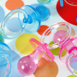 Large Plastic Pacifier Favors