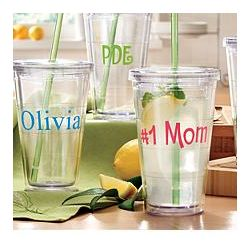 Personalized Plastic To Go Cup