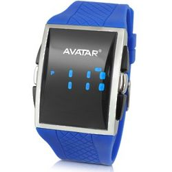 Avatar Blue Digital Watch