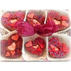 Chocolate Hearts Homemade Sandwich Cookies