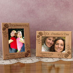 Personalized Mother's Day Wooden Picture Frame