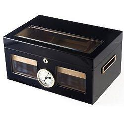 Venetian Black 125 Cigar Humidor