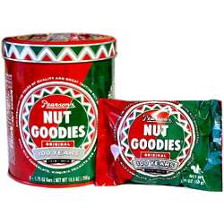 Nut Goodie Candy Tin