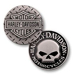 Harley-Davidson Willie G. Skull Keepsake Coin