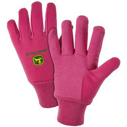 John Deere Ladies' Light-Duty Cotton Grip Glove