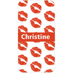 Personalized Kisses iPhone Case
