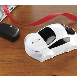 3-D Car Wireless Optical Mouse
