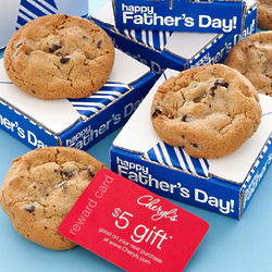 Father's Day Cookie Greeting with Gift Card