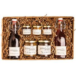 Quince and Apple Preserves and Syrup Deluxe Gift Box