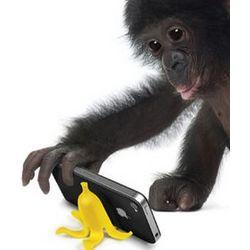 Banana Stand Phone Perch