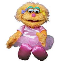 Zoe Plush Sesame Street Doll