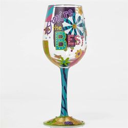 You're the Best Wine Glass