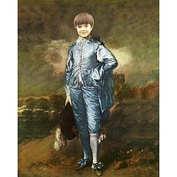 Personalized Blue Boy Painting